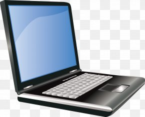 Hand Drawn Computer - Netbook Laptop Dell Personal Computer Output Device PNG