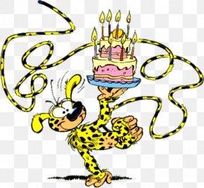 Birthday - Birthday Cake Marsupilami Happy Birthday To You Party PNG