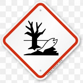 Hazard Sign Images - Globally Harmonized System Of Classification And Labelling Of Chemicals Dangerous Goods GHS Hazard Pictograms Natural Environment PNG