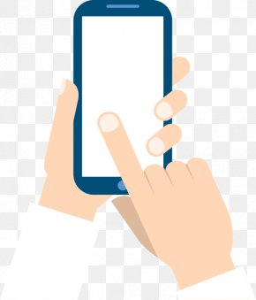 Hand And Mobile Phone Elements - Smartphone Mobile Device Application Programming Interface Icon PNG