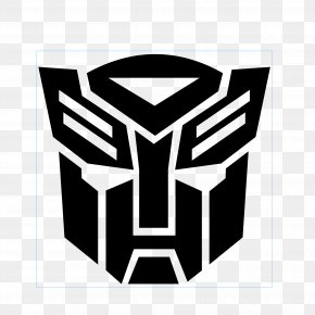 Transformers Face Sticker Vector - Transformers Autobots Bumblebee Optimus Prime Logo PNG