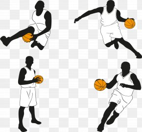 Playing Basketball People - Basketball Player Euclidean Vector Icon PNG