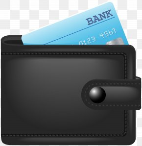 Wallet With Credit Card Clip Art Image - Credit Card Clip Art PNG