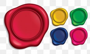 Along With Sealing Paint Color - Sealing Wax Stamp Seal Rubber Stamp PNG