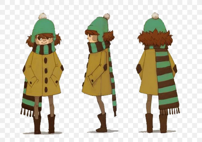 Character Design Turnaround Drawing Png 852x600px