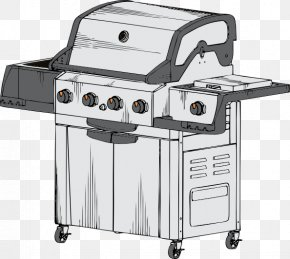 White Grill Cliparts - Barbecue Grill Spare Ribs Kebab Char Siu Clip Art PNG