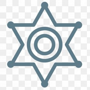 Sheriff - Badge Police Officer Sheriff PNG