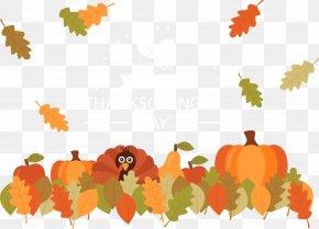 Thanksgiving Pumpkin Leaves - Leaf Thanksgiving Dinner Pumpkin Autumn PNG