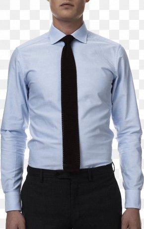 Dress Shirt Image - Dress Shirt T-shirt Necktie PNG