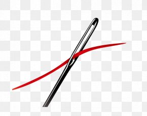 Iron Rod Needle - Sewing Needle Embroidery Computer File PNG