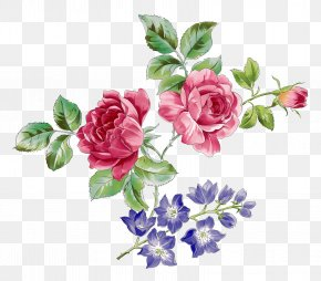 Ink Flowers - Flower Watercolor Painting Drawing Clip Art PNG