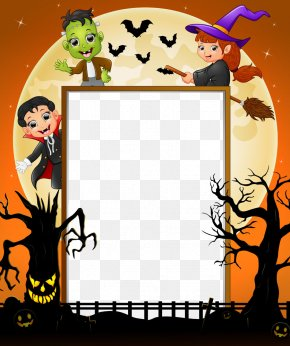 Halloween Vector Border - Halloween Costume Cosplay PNG