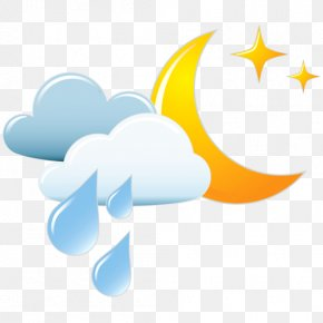 Weather Forecast - Weather Forecasting Rain Cloudburst Icon PNG