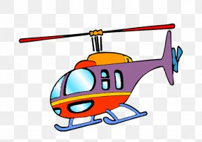 Helicopter - Helicopter Airplane Aircraft Cartoon PNG