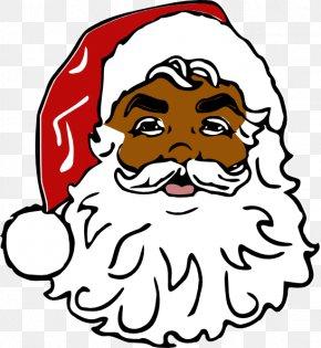 Fatherhood Images - Santa Claus Face Clip Art PNG