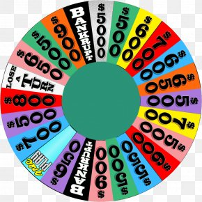 Backgrouns - Game Show Television Show Wheel PNG