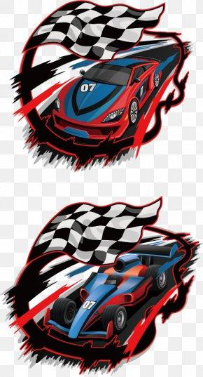 Racing Creative - Auto Racing Racing Flags Race Track PNG