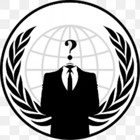 Anonymous - Anonymous Logo Security Hacker Emblem PNG