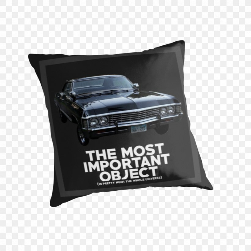 Chevrolet Impala Cushion Pillow United States Television Show, PNG, 875x875px, Chevrolet Impala, Art, Brand, Cushion, Pillow Download Free