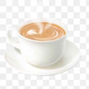 Coffee Cup Hot Milk Tea - Coffee Cup Latte Tea Cuban Espresso PNG