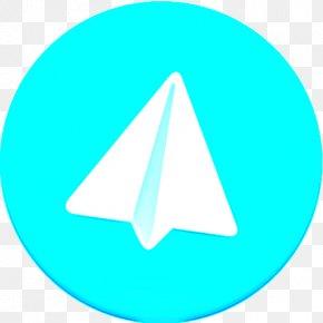 Logo Symbol - Aqua Turquoise Azure Teal Line PNG