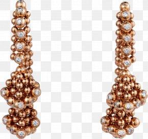 Jewelry Designer - Earring Jewellery Cartier Paris Diamond PNG