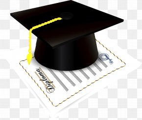 Dr. Cap - Graduation Ceremony Square Academic Cap Diploma Clip Art PNG