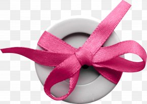 Gift With Bow - Ribbon Shoelace Knot PNG