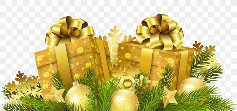 Santa Claus Christmas Gift Christmas Gift, PNG, 5000x2345px, Gift, Christmas, Christmas Decoration, Christmas Gift, Christmas Ornament Download Free