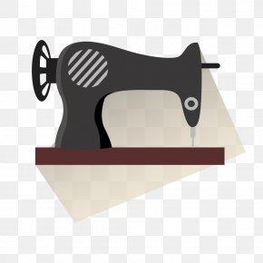 Vector Popcorn Machine - Sewing Machine Clip Art PNG