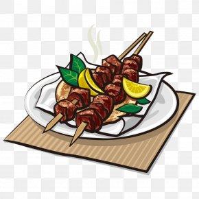 Vector Kebab - Greek Cuisine Kebab Indian Cuisine Souvlaki Gyro PNG