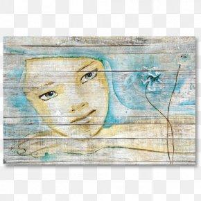 Painting - Painting Palette Wood Maison En Bois PNG