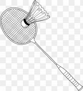Badminton - Badmintonracket Net Shuttlecock Clip Art PNG