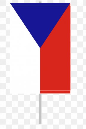 Flag Of The Czech Republic - Flag Of The Czech Republic Flag Of Europe Flagpole PNG
