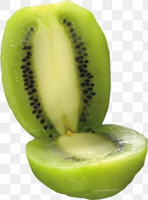 Green Cutted Kiwi Image - Kiwifruit Three-dimensional Space PNG