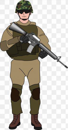 Soldier Transparent - Soldier Clip Art PNG