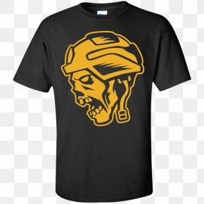 Yellow T Shirt - T-shirt Hoodie Sleeve Gildan Activewear PNG