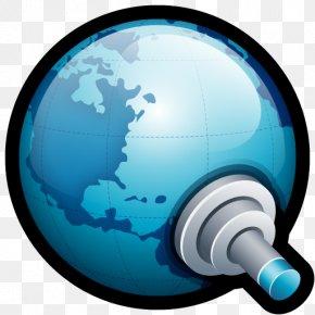 World Connect - Communication Technology Globe PNG
