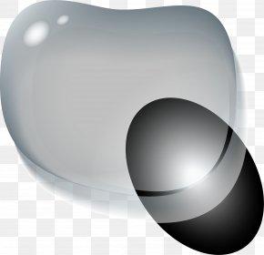 Gray Fresh Water Drop - Drop Grey Liquid Water PNG