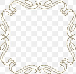 Picture Frame Ornament - Gold Picture Frames PNG