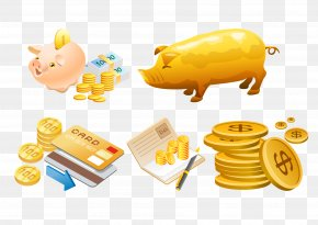 Coin Card Appliances - Money Adobe Illustrator Icon PNG