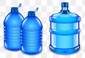 Vector Pure Water - Water Bottle Bottled Water Clip Art PNG