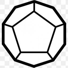 Regular Dodecahedron Pentagon Stellation Polygon PNG
