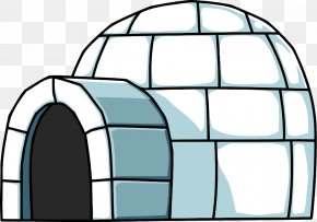 Igloo Transparent Image - Club Penguin Igloo Clip Art PNG