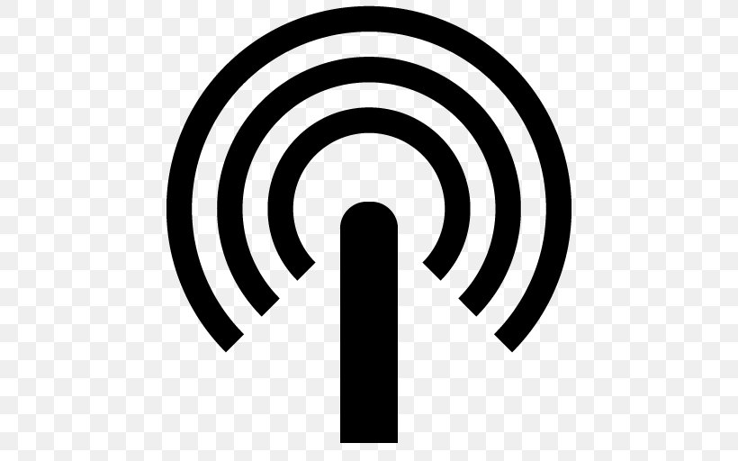 Wi Fi Signal Hotspot Icon Png 512x512px Wifi Antenna Black And White Cellular Network Hotspot Download