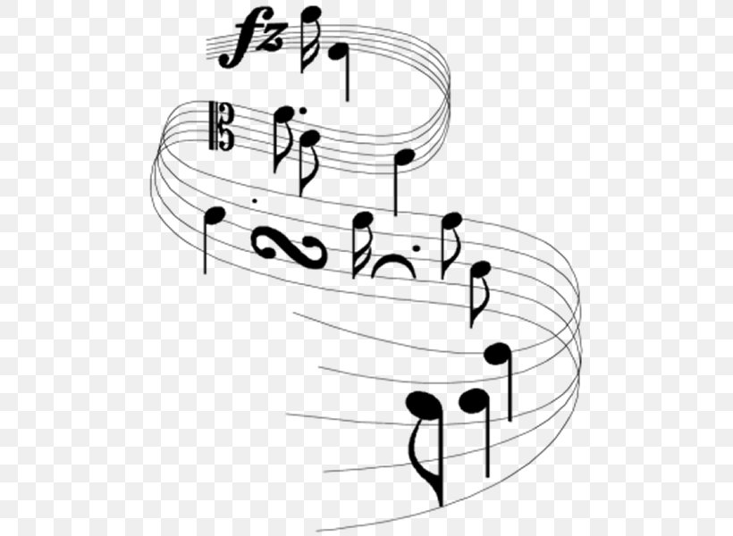 Musical Note Staff Clip Art, PNG, 495x600px, Watercolor, Cartoon, Flower, Frame, Heart Download Free