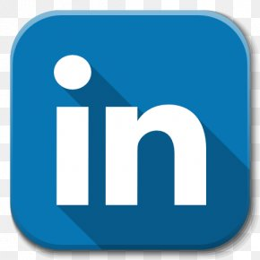 Apps Linkedin - Blue Area Text Brand PNG