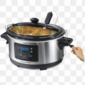 Slow Cookers Hamilton Beach Set & Forget 6 Quart Programmable Slow Cooker Hamilton Beach Set & Forget 33969 Hamilton Beach Brands PNG