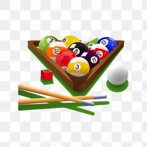 Vector Billiards And Club - Billiards Cue Stick Billiard Table PNG