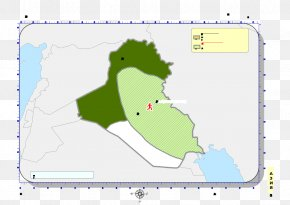 Iraq - Map Land Lot Point Angle Diagram PNG